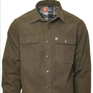 The American Outdoorsman Canvas Shirt Jacket XL